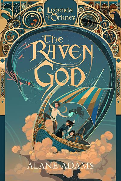 The Raven God by Alane Adams