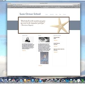 susie website before