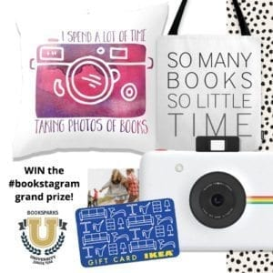Enter to win the #Shelfie giveaway from @BookSparks