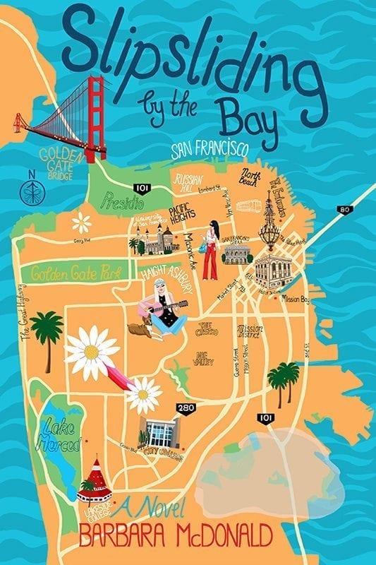 Slipsliding by the Bay by Barbara McDonald