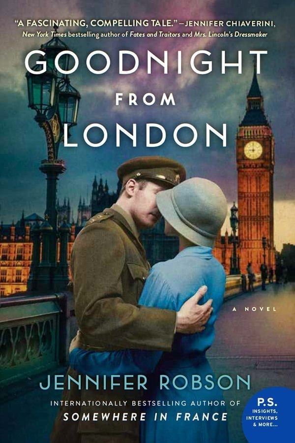Goodnight from London by Jennifer Robson