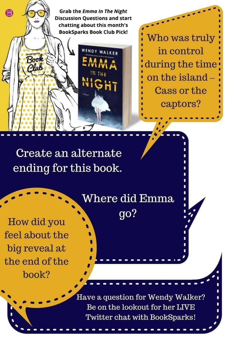 Emma in the Night Discussion Questions - BookSparks