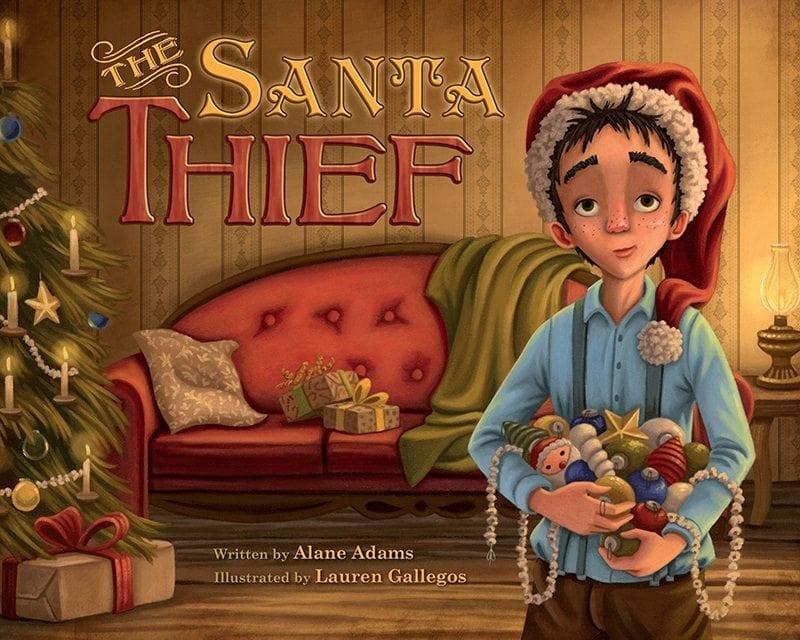 The Santa Thief by Alane Adams